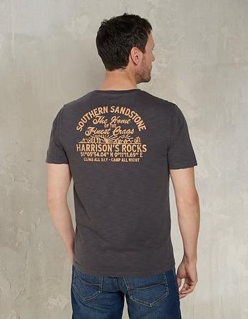 Southern Sandstone Organic Cotton Graphic T-Shirt