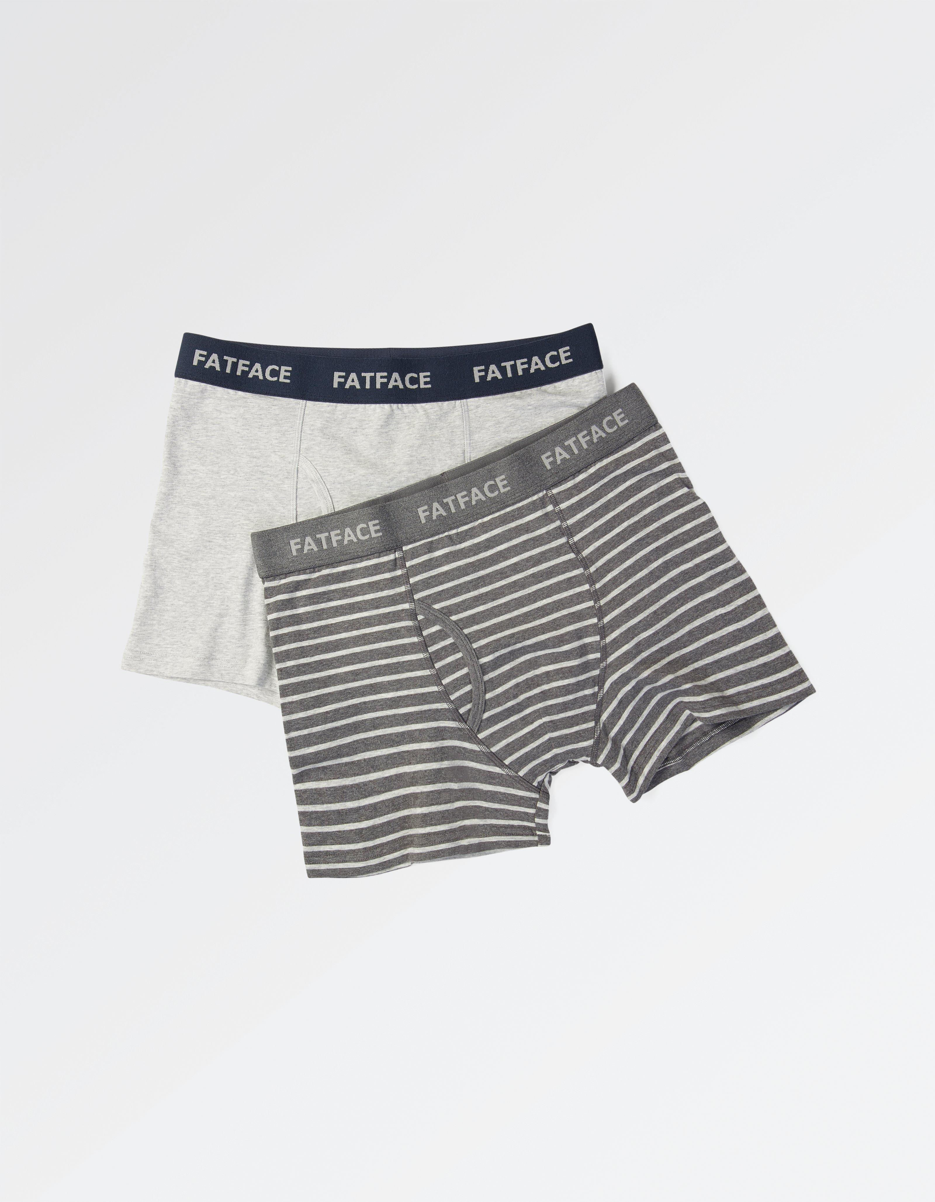 Two Pack Abingdon Stripe Boxers