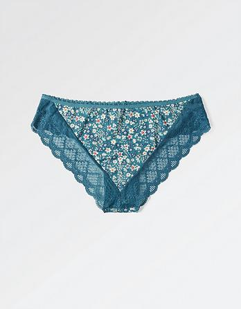 Ellie Floral Cheeky Briefs