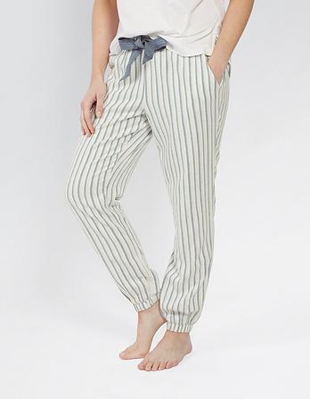 Stripe Cuffed Lounge Pants