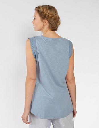 Broderie Tank Top