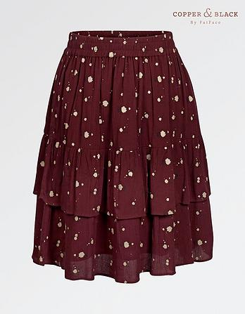 Caroline Petal Floral Skirt