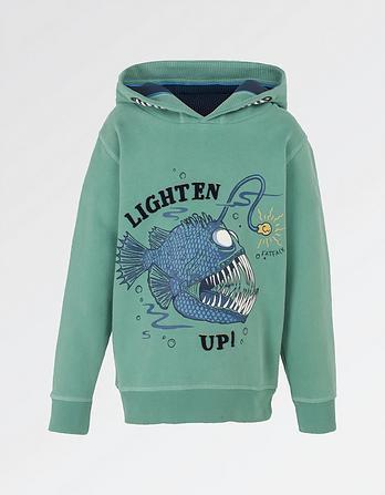 Anglerfish Popover Hoody