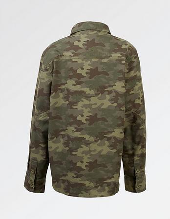 Newton Camo Print Shirt