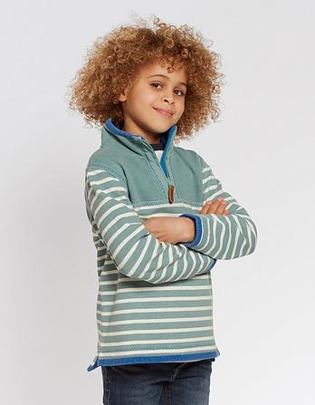 Mini Stripe Airlie Sweatshirt