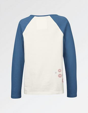 Bunny Cycle Raglan T-Shirt