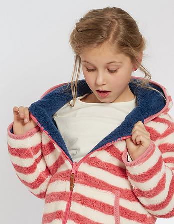 Reversible Zip Thru Fleece