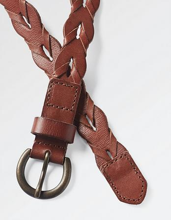 Jemma Braid Leather Belt
