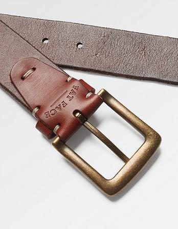 Italian Leather Stitch Belt