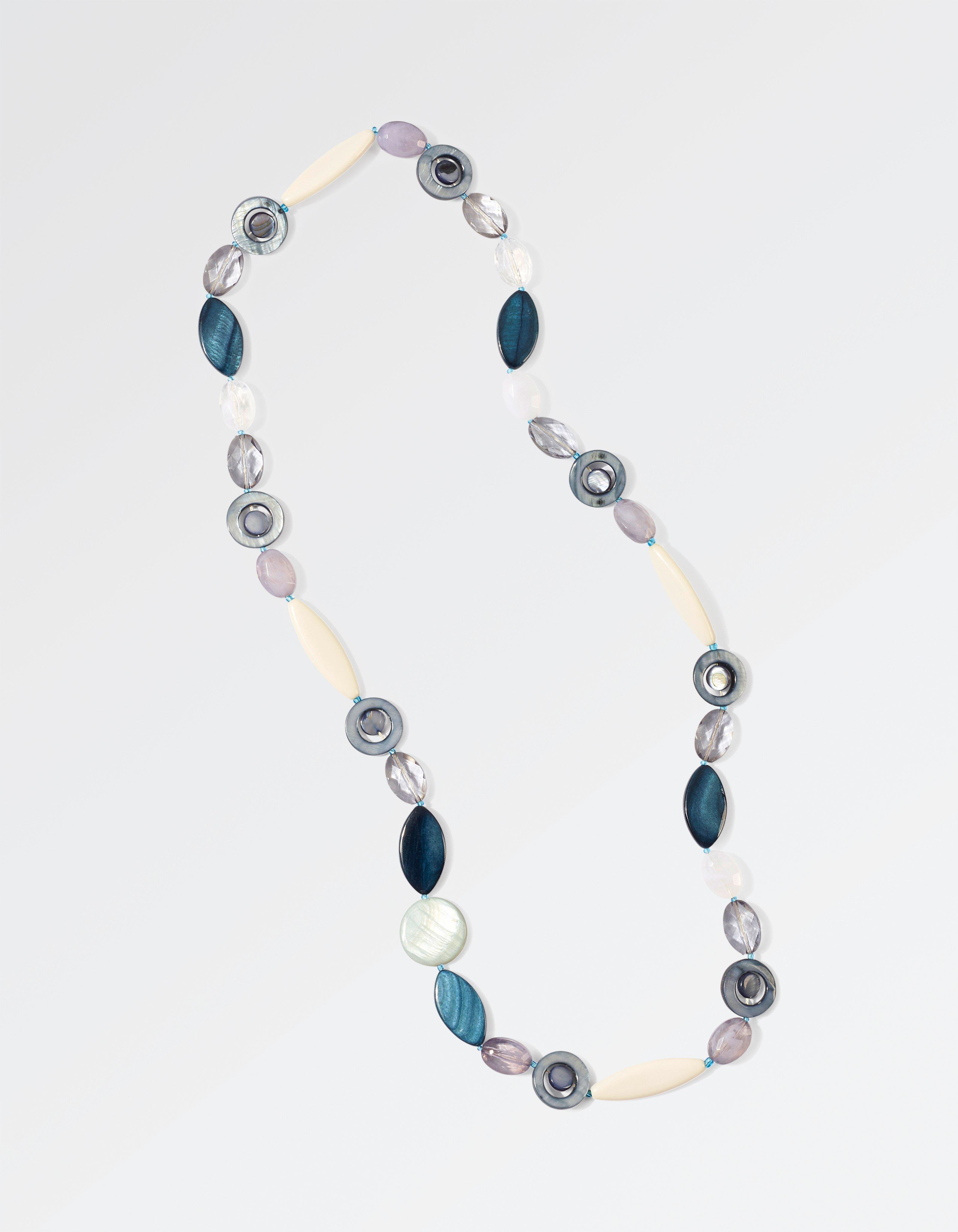 Multi Shaped Bead Necklace