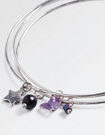 Star Bangle Bracelet