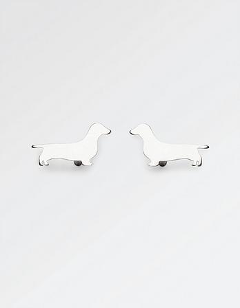 The Old Farmhouse Dachshund Stud Earrings