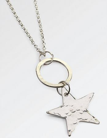 The Old Farmhouse Star Long Necklace