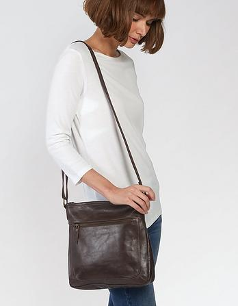 Ally Leather Cross Body Bag
