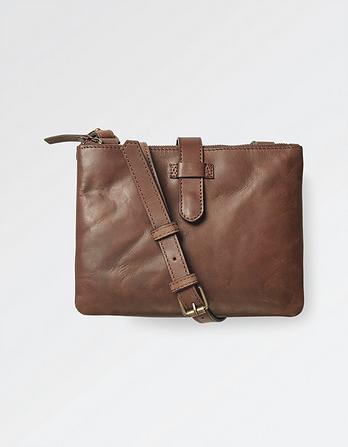 Dana Leather Cross Body Bag