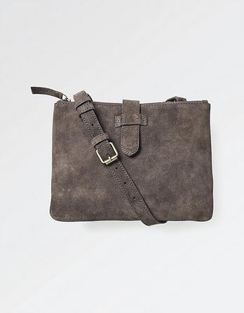 Dana Suede Cross Body Bag