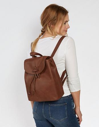 Krissie Knot Leather Rucksack