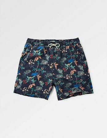 Fistral Tropical Print Swim Shorts