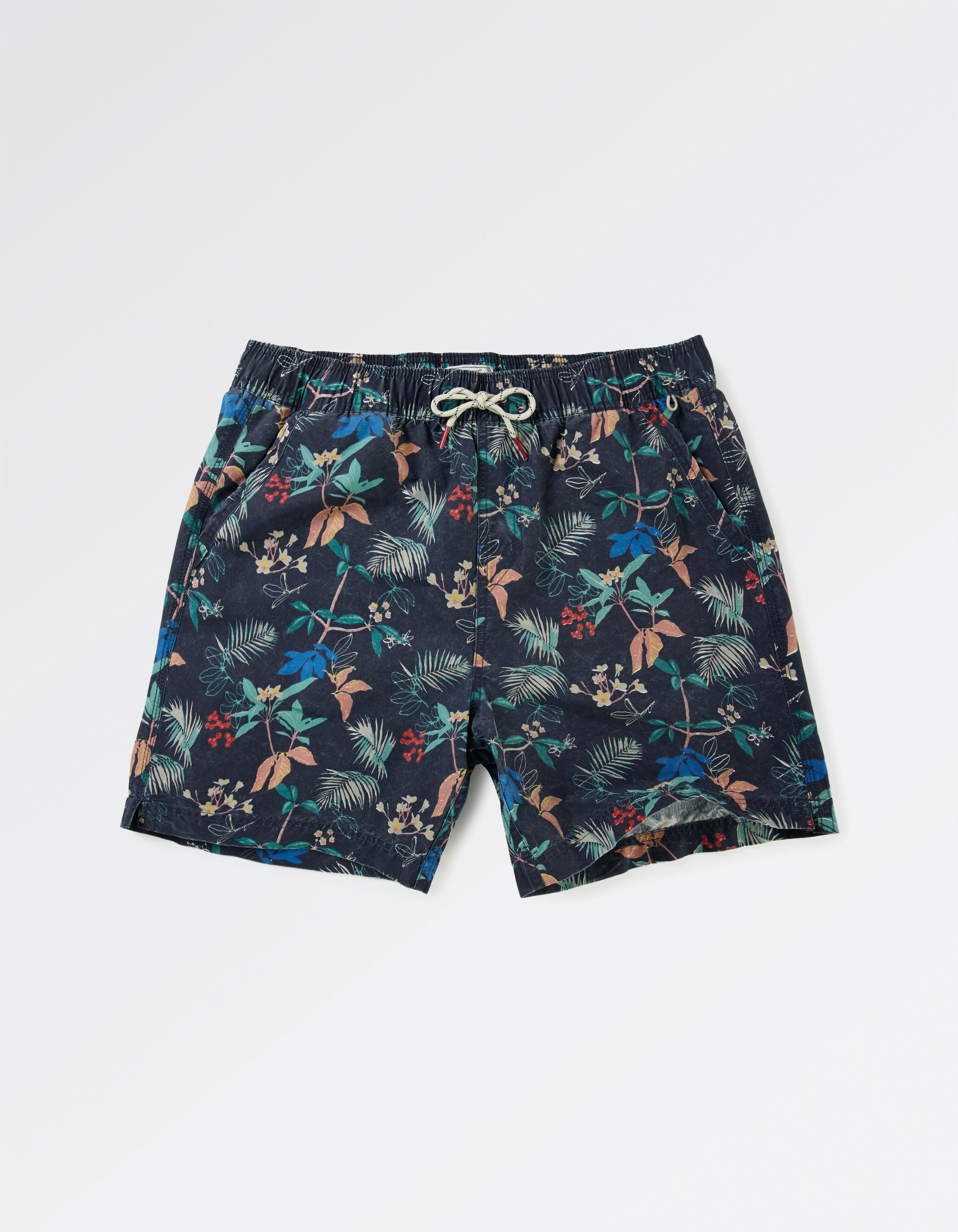 Fistral Tropical Print Swim Shorts