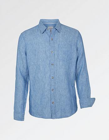 Linen Plain Shirt