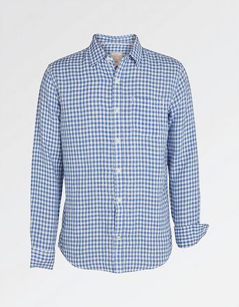 Linen Gingham Shirt