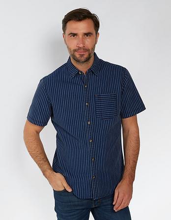 Hurst Dobby Stripe Shirt