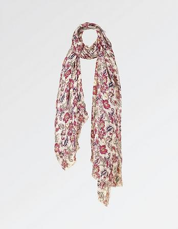 Damask Rose Scarf