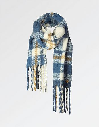 Daisy Brushed Check Scarf