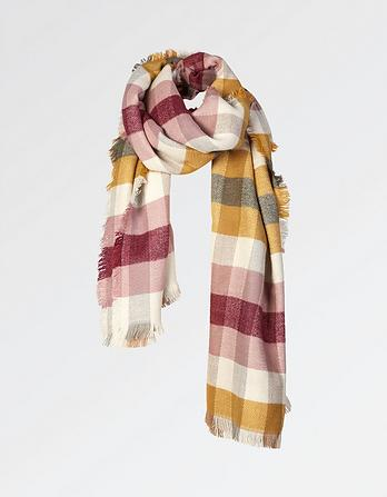 Martha Check Scarf