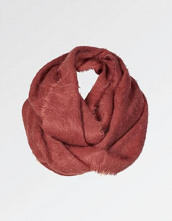 Poppy Brushed Snood