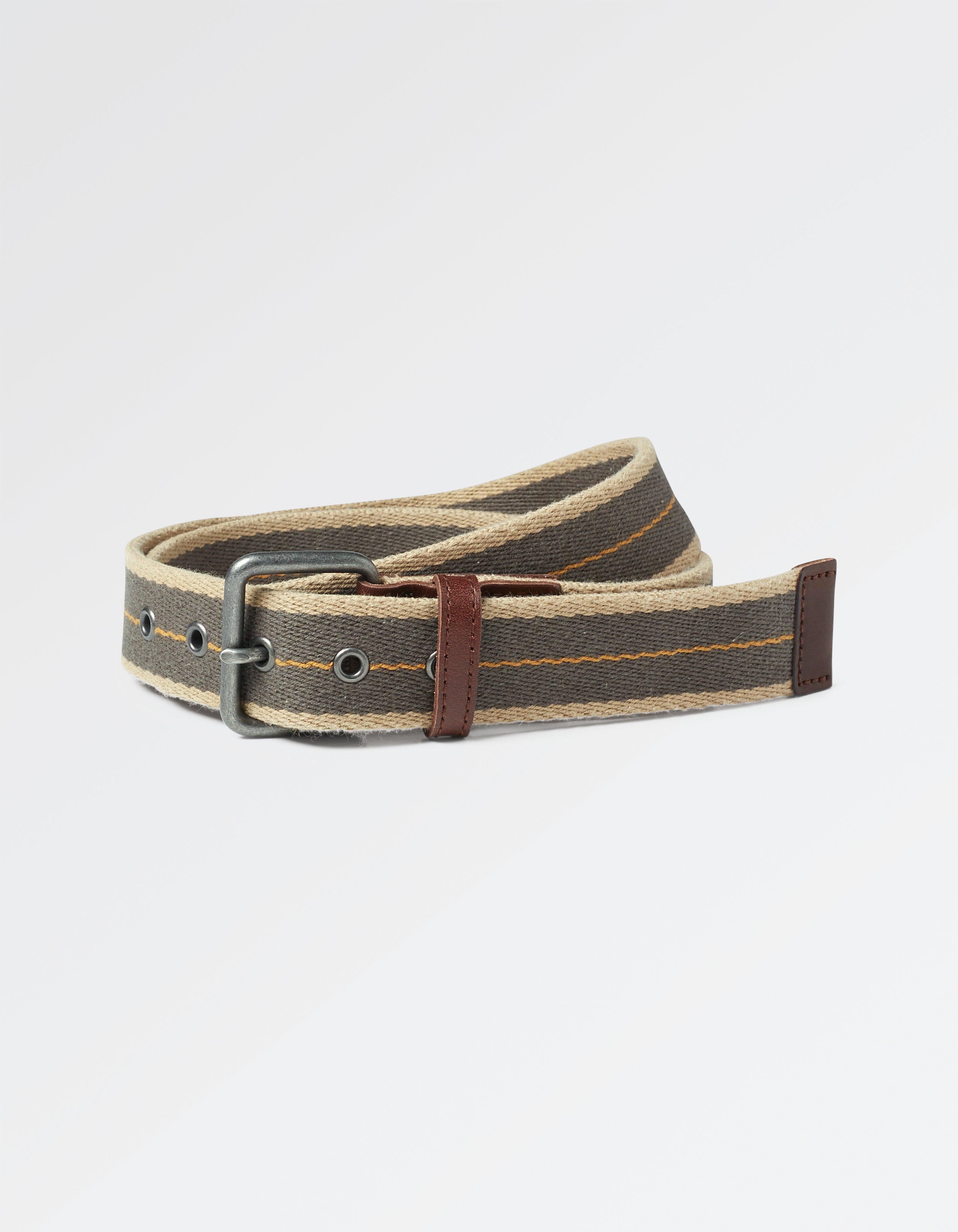Pop Stripe Woven Belt