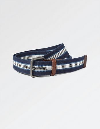 Joshua Woven Stripe Belt