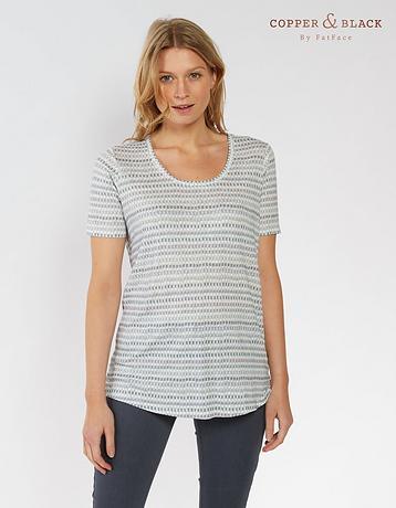 Linen Watercolour T-Shirt