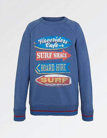 Surf Graphic Sweatshirt