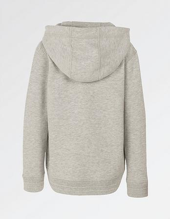 Plain Zip Thru Hoody