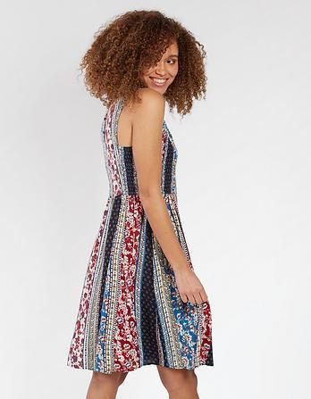 Karen Sari Floral Dress