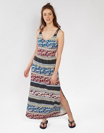 Lily Sari Floral Maxi Dress