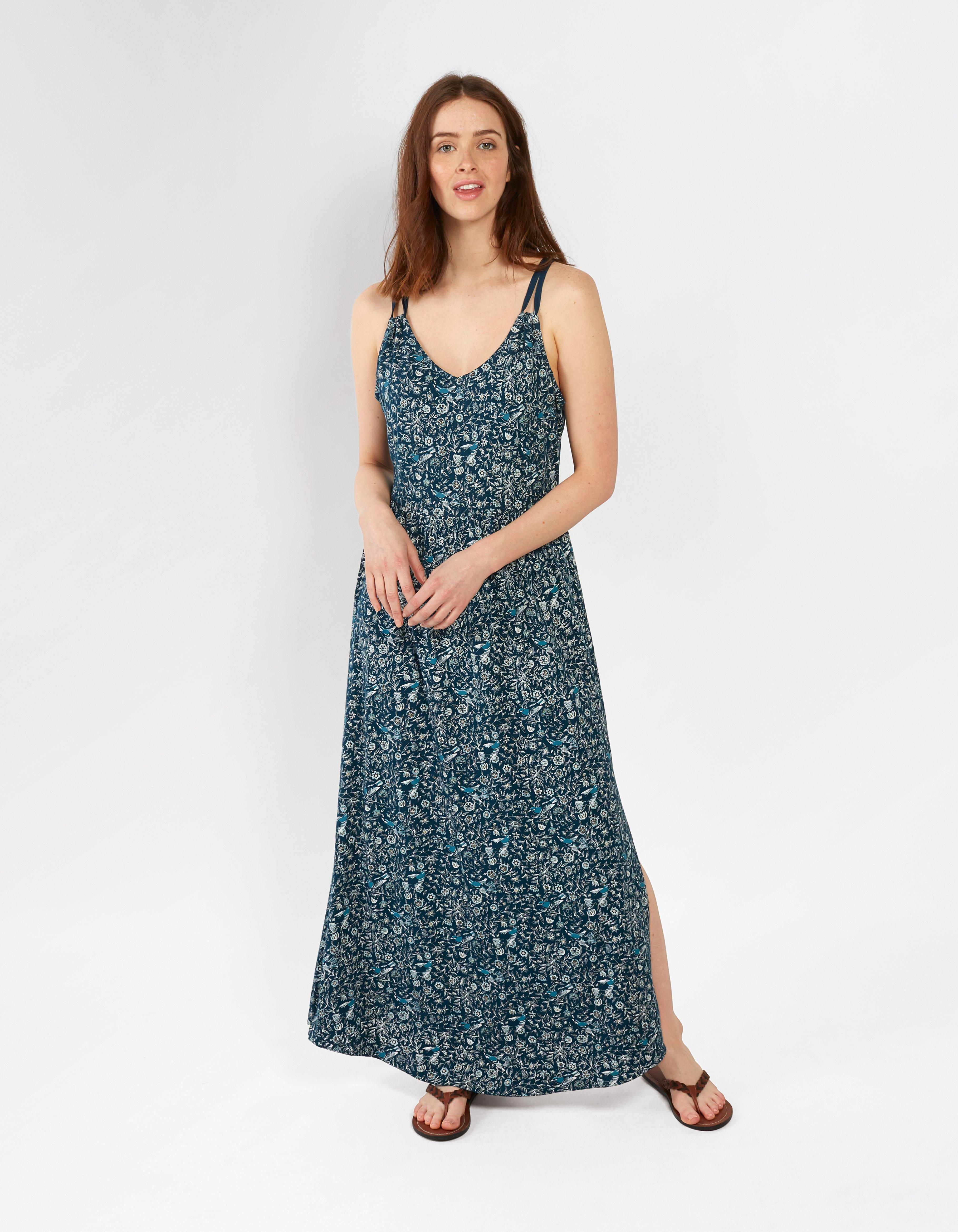 Lily Linear Garden Maxi Dress