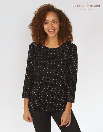 Linley Mono Dot Top