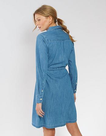 Leanne Chambray Shirt Dress