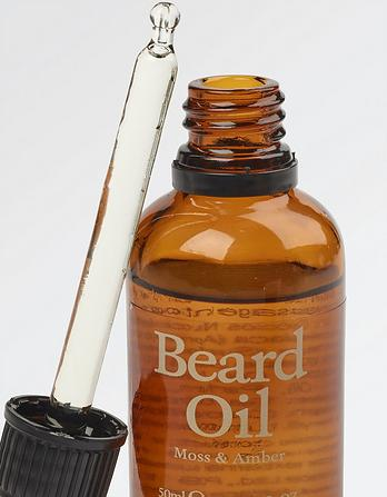 Moss and Amber Beard Oil