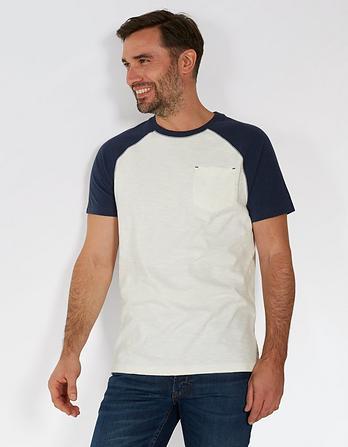 Tilford Organic Cotton Raglan T-Shirt
