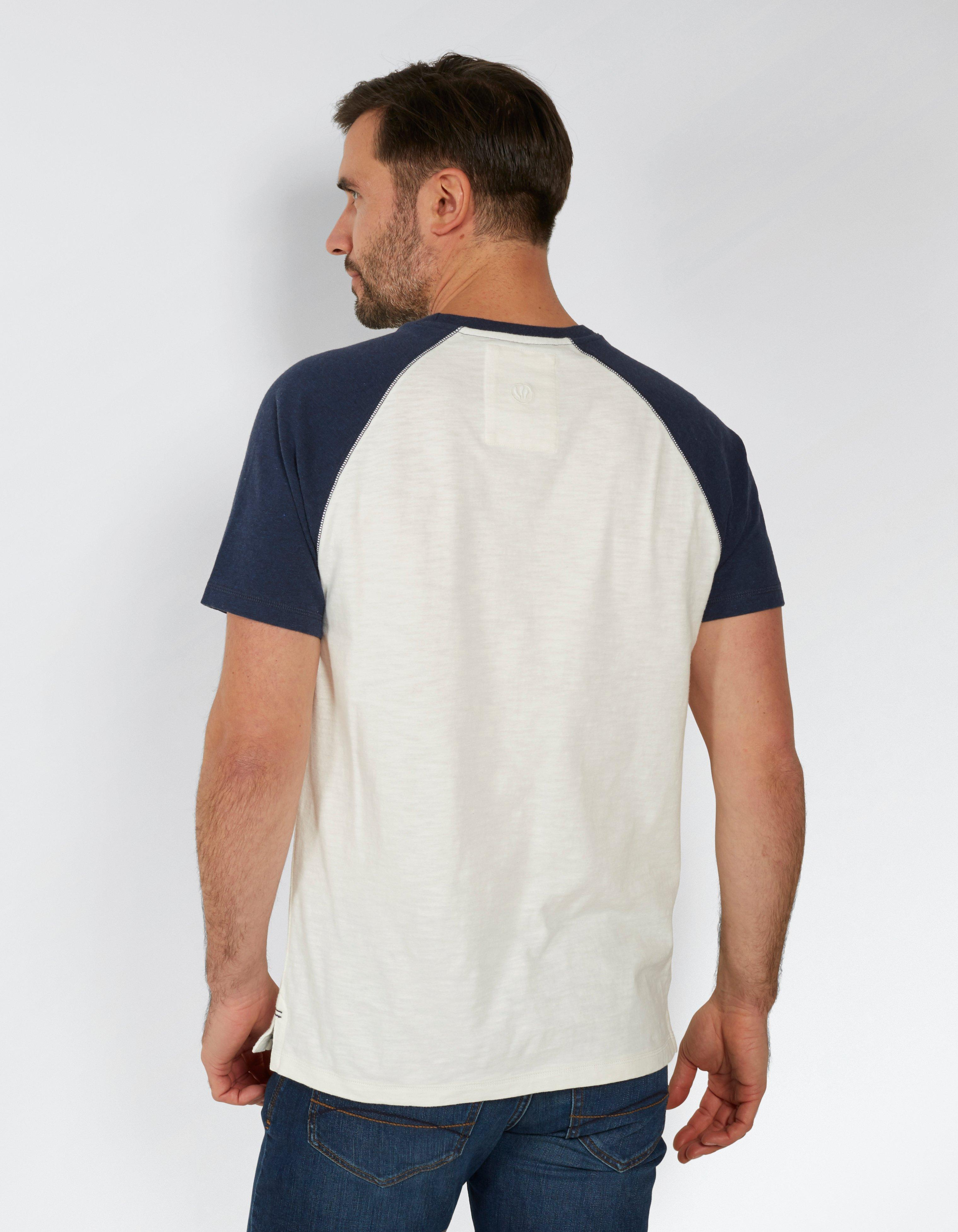 Tilford Organic Cotton Raglan T Shirt