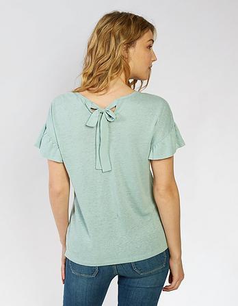 Elenor Frill Sleeve T-Shirt