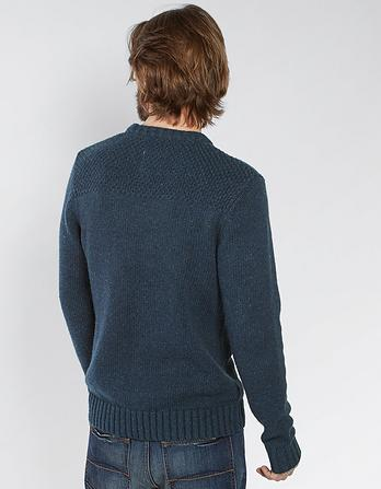 Perthshire Cable Crew Neck Sweater