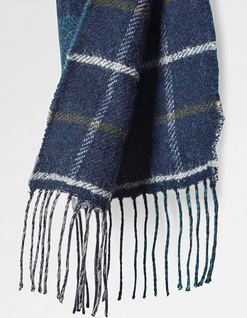 Reverse Check Scarf