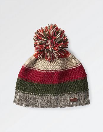 Hand Knit Colour Block Hat