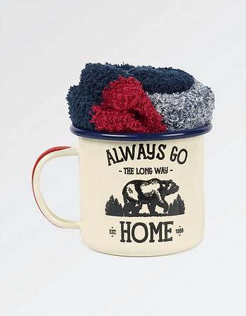Bear Socks in a Mug