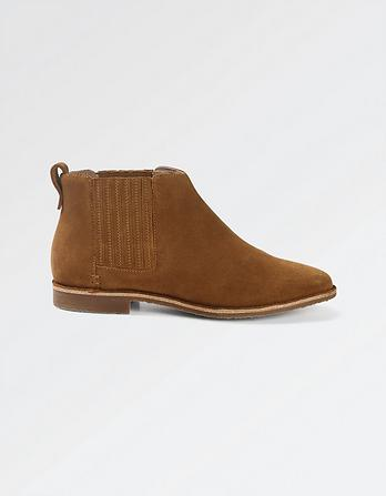 Newbury Suede Ankle Boots