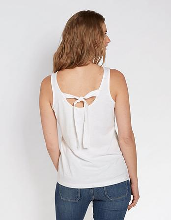Floral Organic Cotton Placement Cami